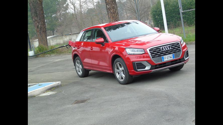 Audi Q2 1.4 TFSI, la prova dei consumi reali