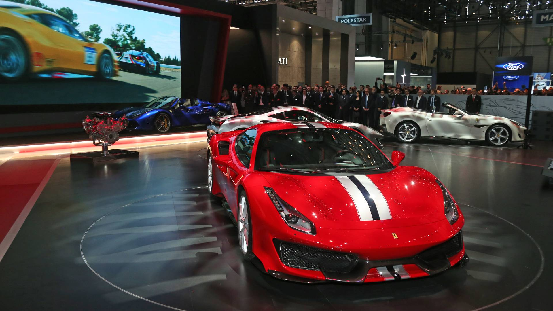 Ferrari 488 Pista Caught On Video In The Real World