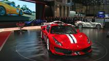 Ferrari 488 Pista en el salón de Ginebra 2018