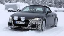 2018 Audi TT Roadster Spy Shots