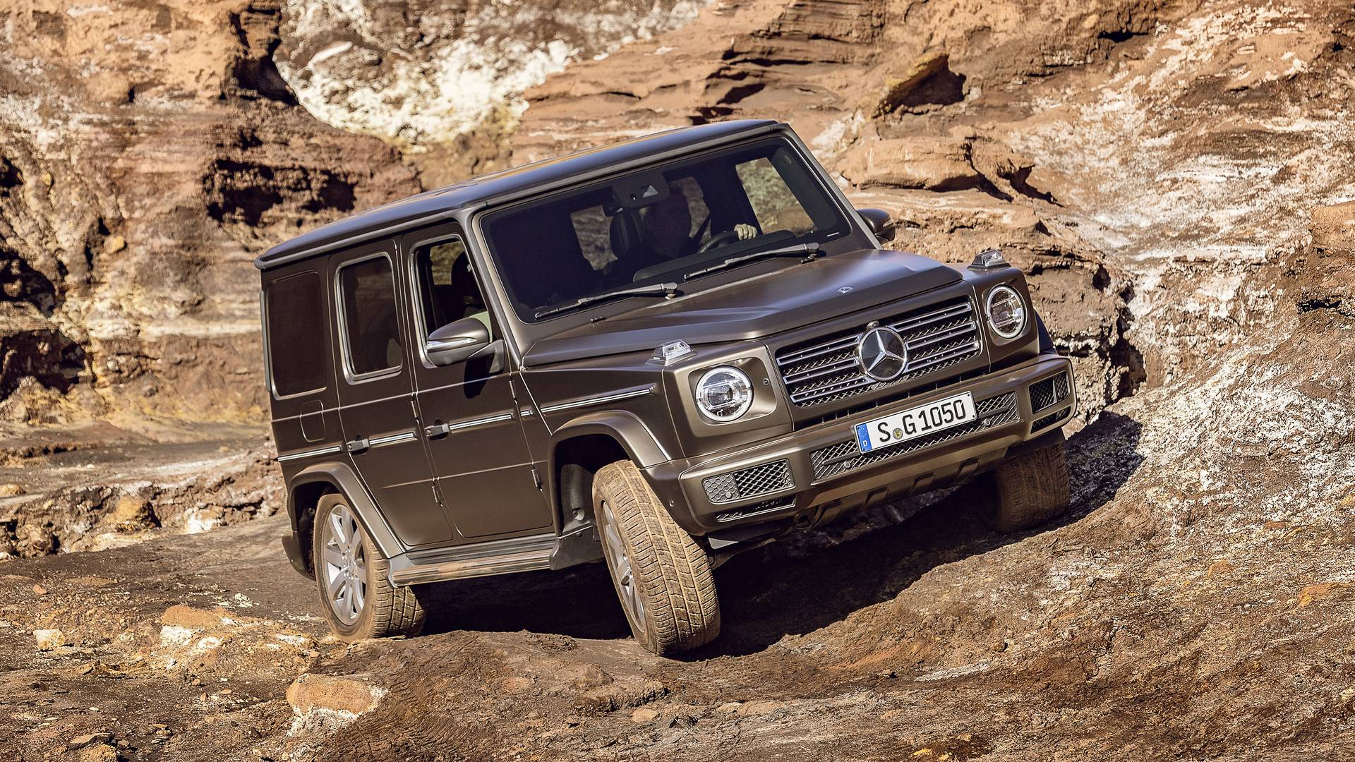 Mercedes G Class To Offer Diesel Engine In Europe From December