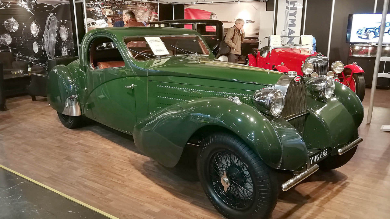 Techno Classica 2018: Bugatti mal nicht in blau