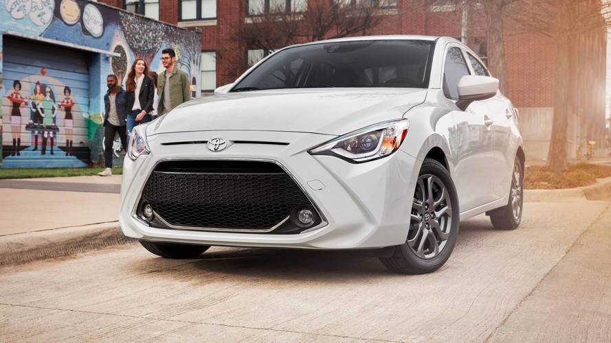 2019 Toyota Yaris Sedan Debuts With Updated Look, New Name