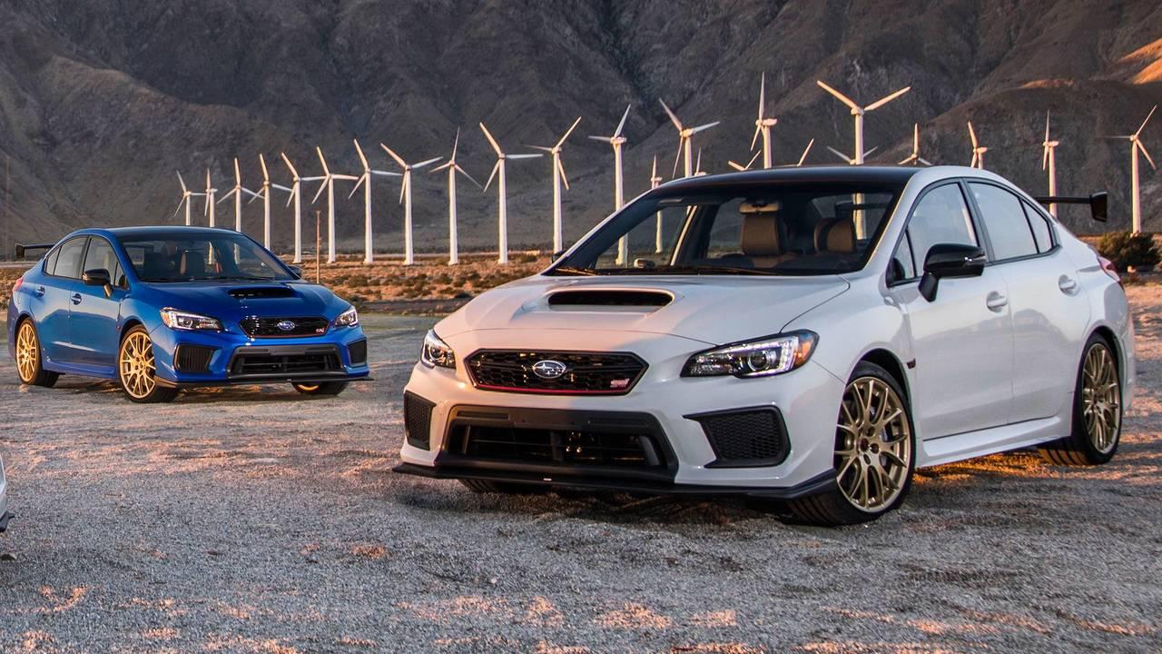 Subaru WRX STI Type RA e BRZ tS