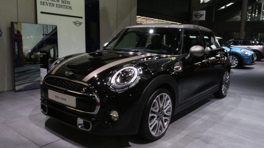 Mini 5-portes 2017 Mondial de l'Automobile