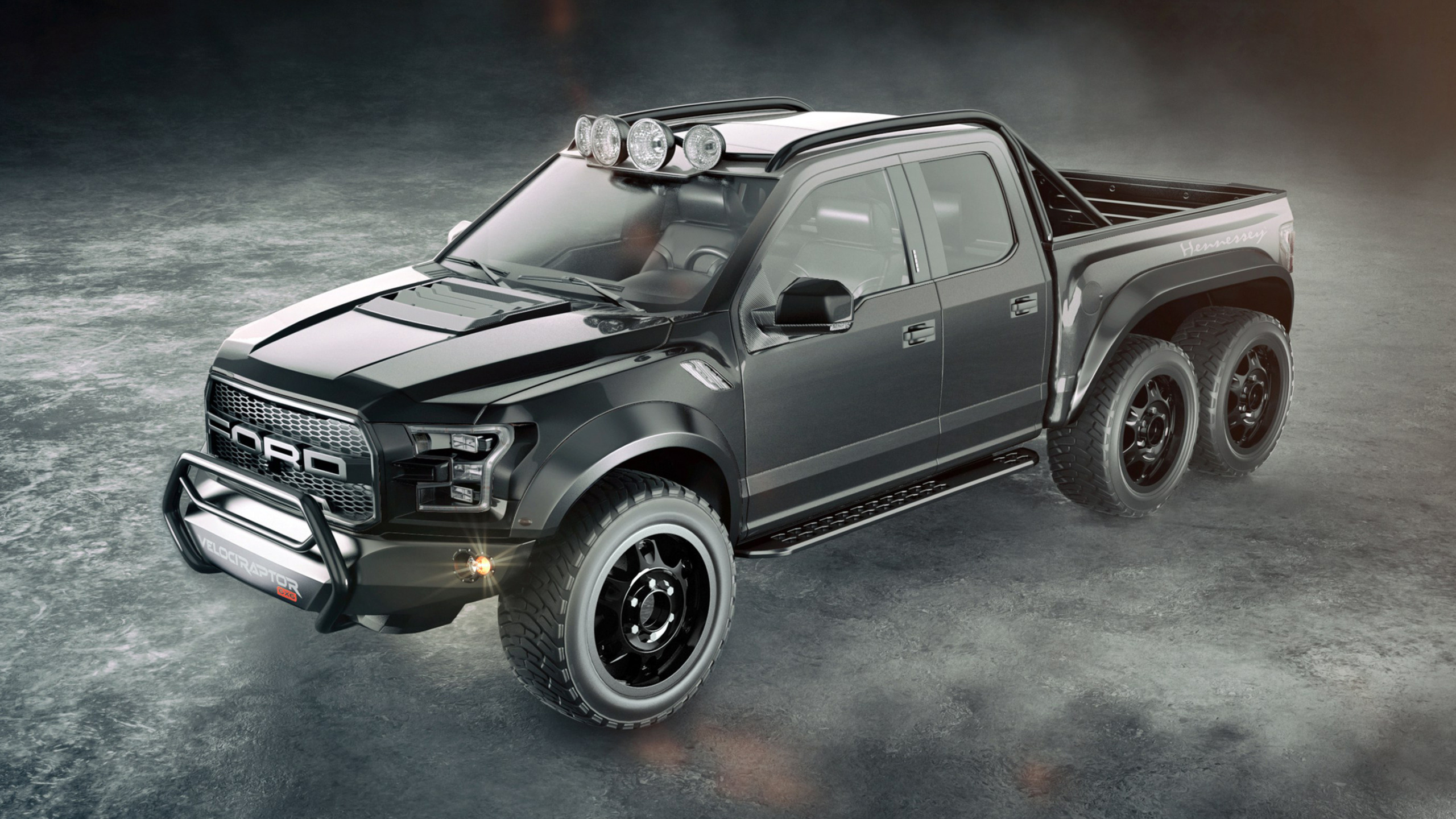 Hennessey Unleashes 602-HP VelociRaptor 6x6 With $349K Price Tag