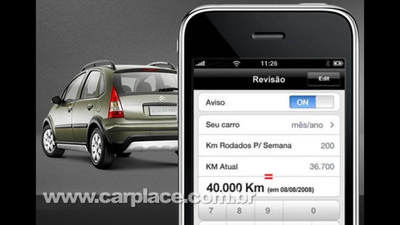 Citroën Mobile - Marca lança aplicativo desenvolvido pela Apple para o iPhone