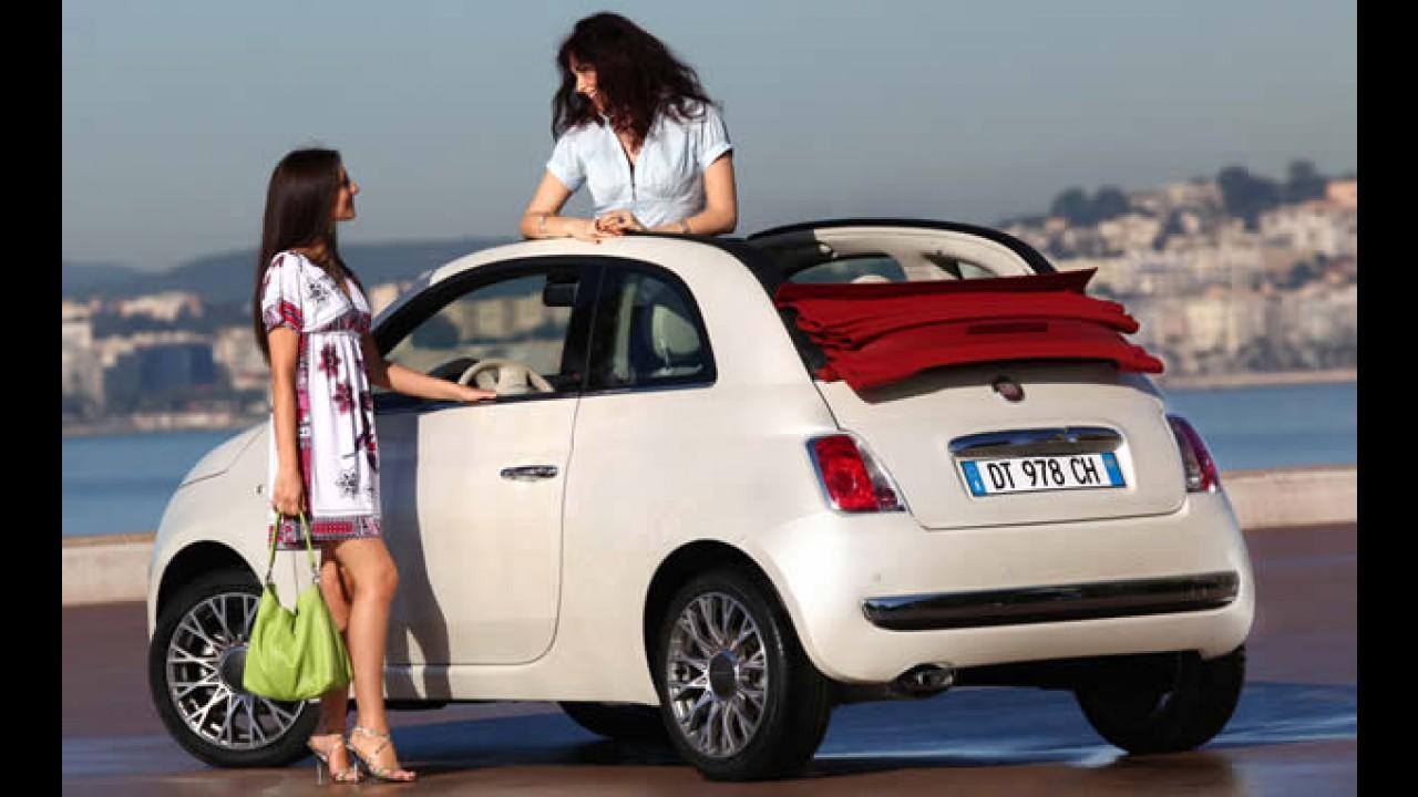 Fiat 500 Conversível - Versão cabriolet custa R$ 45.900 na Europa - Veja galeria de fotos