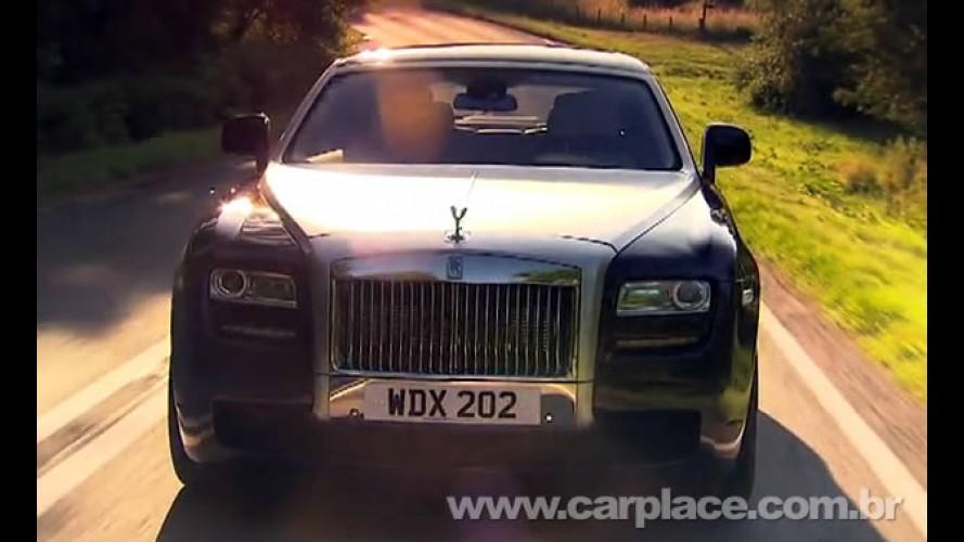 VÍDEO: Rolls Royce divulga filme de divulgação do seu novo modelo de entrada Ghost
