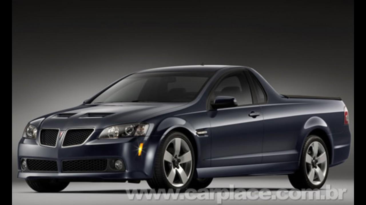 GM cancela a Pontiac G8 Sport Truck 2010 - Pick-up do Omega teria motor V8