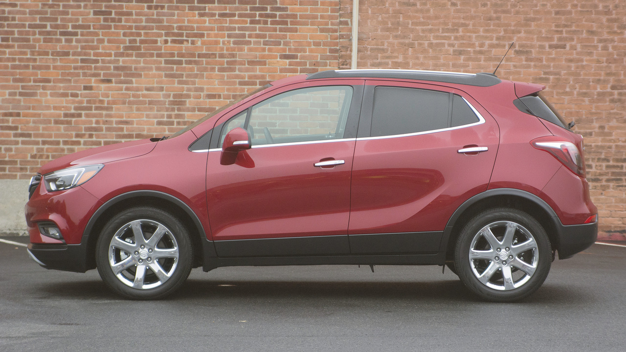 Red Buick Encore >> Review 2017 Buick Encore