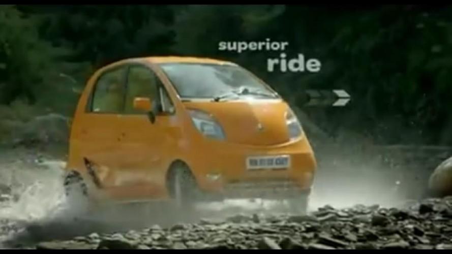 "VÍDEO: Comercial do ""Novo"" Tata Nano 2012"