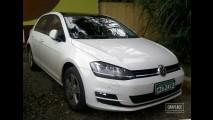 Flagra: novos Golf VII e Audi A3 nas cercanias da fábrica da VW