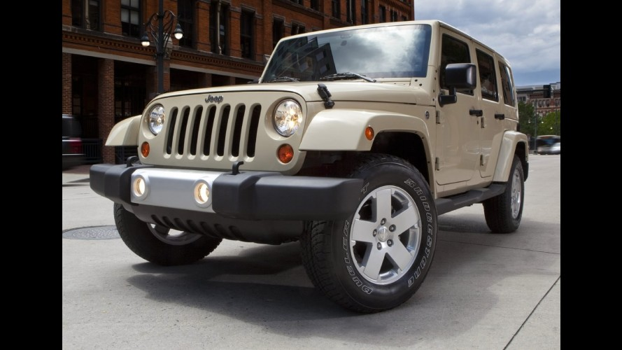 Jeep Wrangler impedido de entrar na China por causa de incêndios