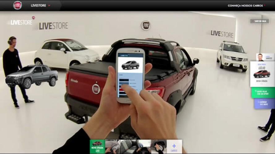 Fiat Live Store revoluciona loja virtual com interação em tempo real