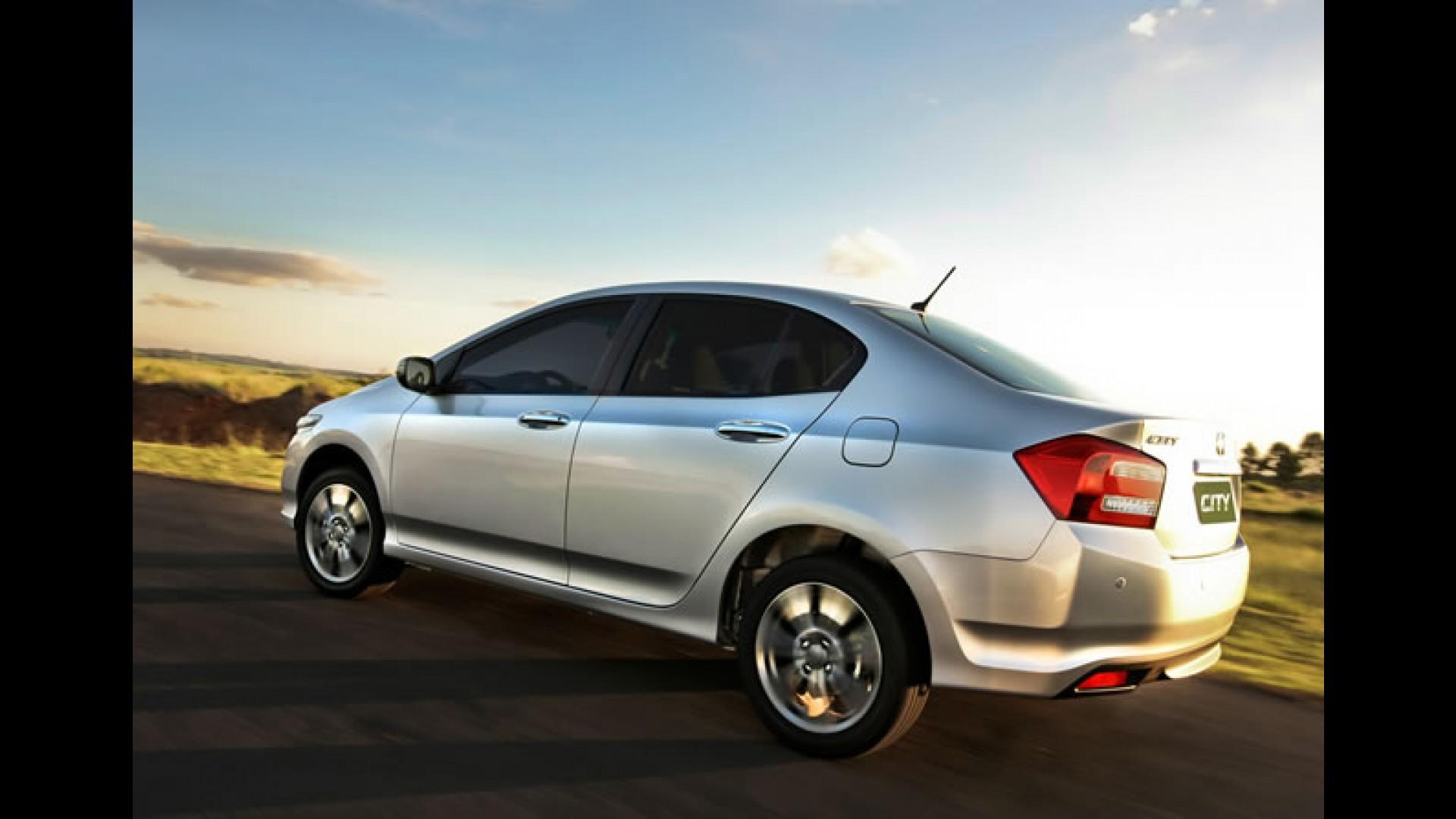 Honda City 2013 reestilizado é lançado: Preços começam em R$ 53.620,00 - Motor1.com Fotos