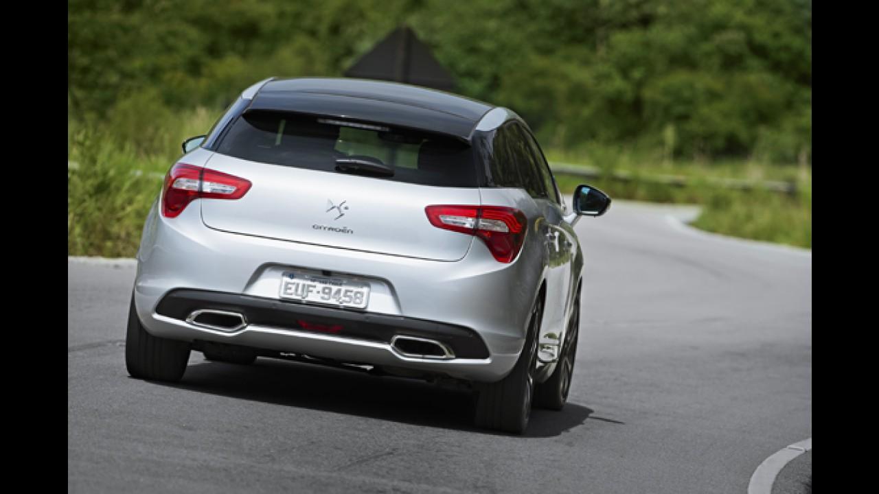 Volta rápida: Citroën DS5 - Ousadia e luxo à francesa