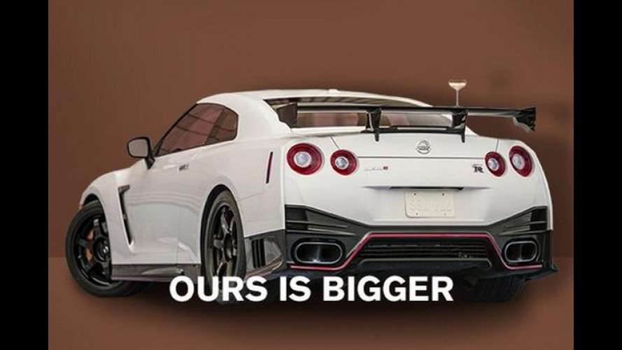 Nissan apela e diz que traseiro do GT-R é maior que o de Kim Kardashian