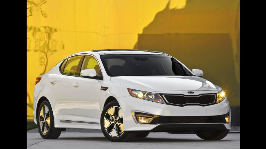 Los Angeles: Kia apresenta o Optima Híbrido