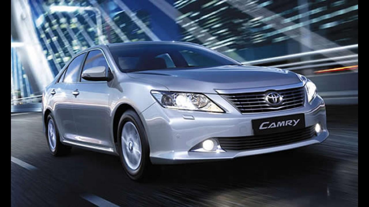 Toyota Camry ganha motor 2.0 de 148 cv na Europa