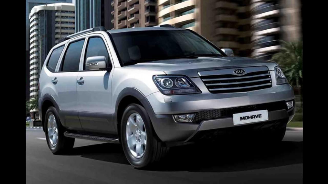 Kia Mohave passa por recall no Brasil por problema nos freios - 820 unidades estão envolvidas