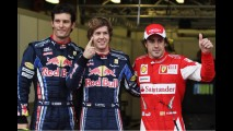Fórmula 1: Vettel larga na pole no GP da Austrália - Massa larga em 5° e Barrichello em 8°