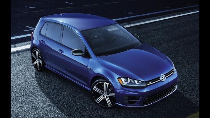 VW Golf R de 292 cv começa a ser vendido nos EUA por menos de R$ 95 mil