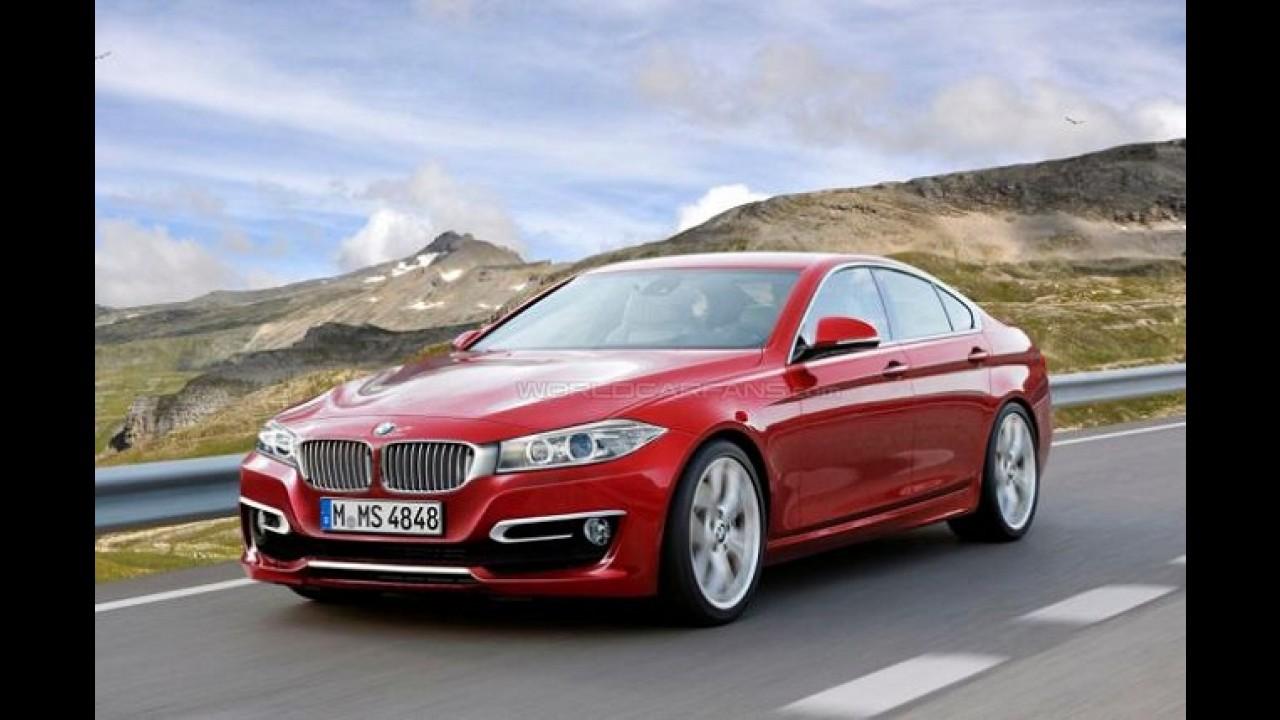 PROJEÇÃO: BMW Série 4 Gran Coupe a caminho