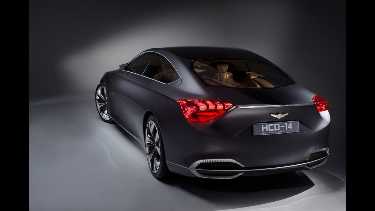 Salão de Detroit: Hyundai divulga primeiros detalhes do HCD-14 Genesis Concept