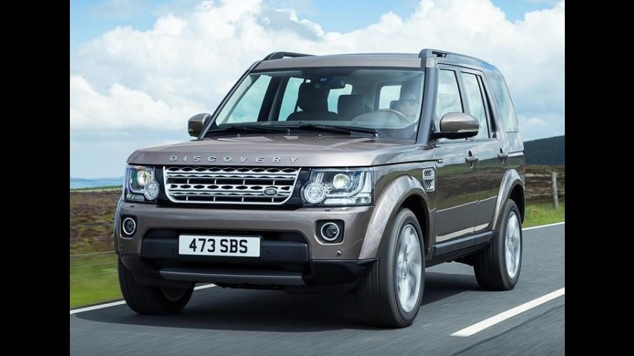 Land Rover: família Discovery ganhará segundo membro em 2016
