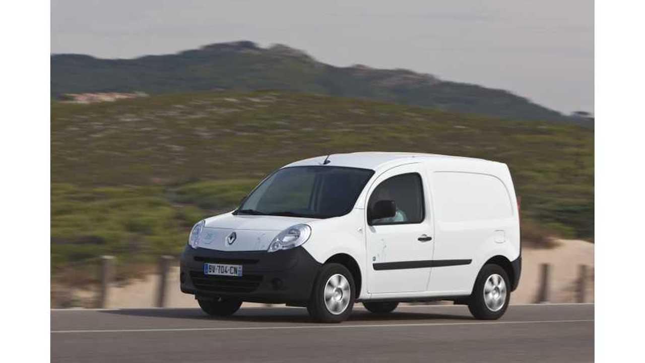FedEx Adds Renault Kangoo Z.E. Electric Vehicles to Fleet in Brazil