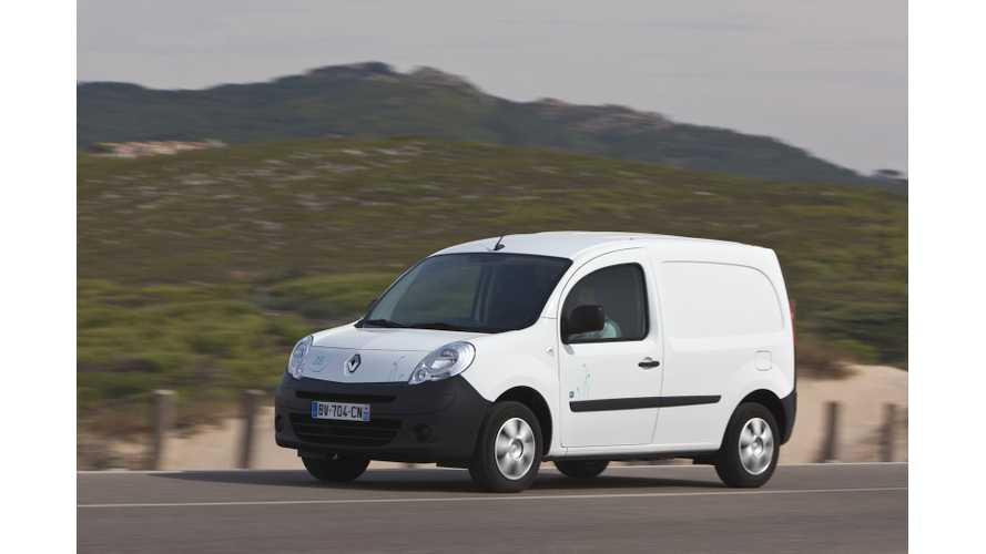 FedEx Adds Renault Kangoo Z.E. Electric Vehicles to Fleet in Brazil