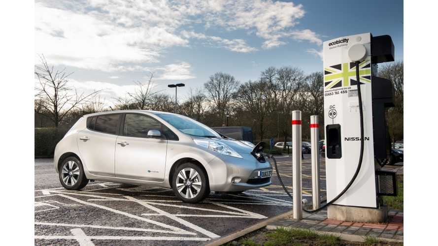 UK to Add 140 More DC Quick Chargers