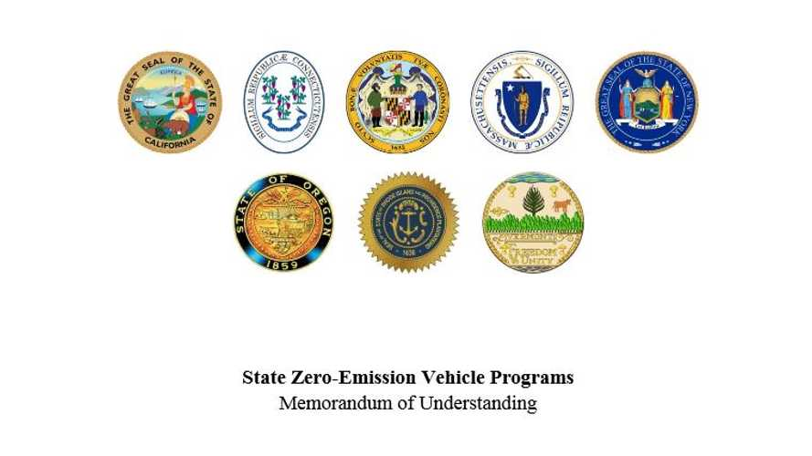 Governors From 8 U.S. States Sign MoU to Put 3.3 Million ZEVs on the Road by 2025