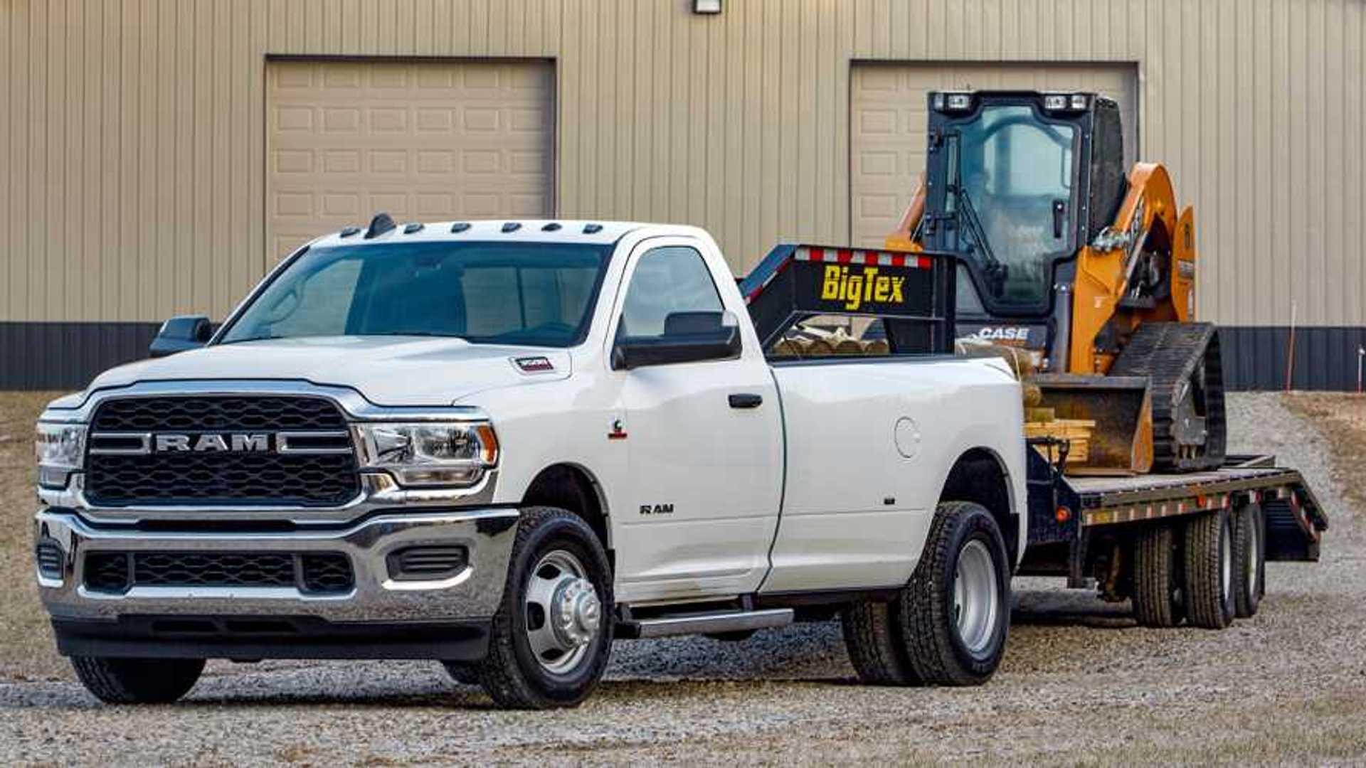 2019 Ram 3500 Tradesman Arrives With 1,000 Lb-Ft, Crank Windows