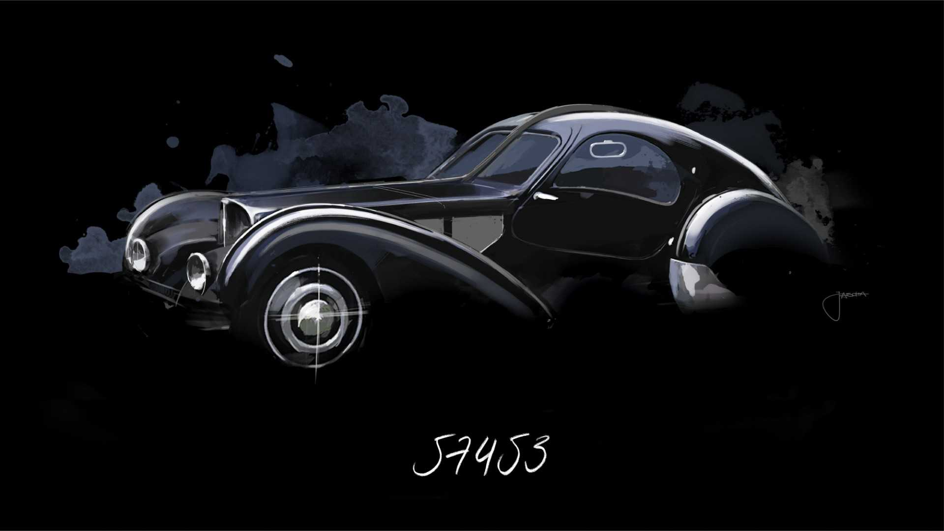 The Mystery Of Bugatti S Lost La Voiture Noire Type 57
