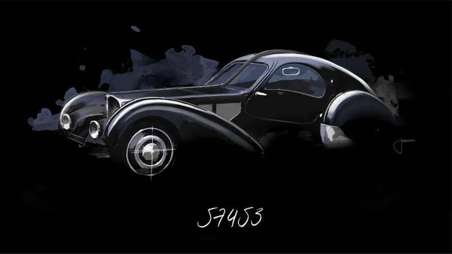 The Mystery Of Bugatti's Lost 'La Voiture Noire' Type 57 Atlantic