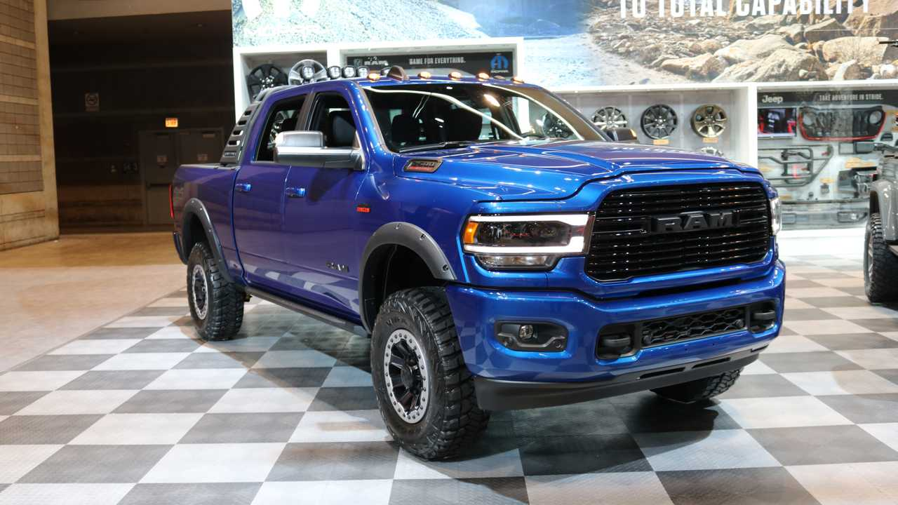 Mopar S 2019 Ram 2500 Debuts With Bevy Of Upgrades In Chicago