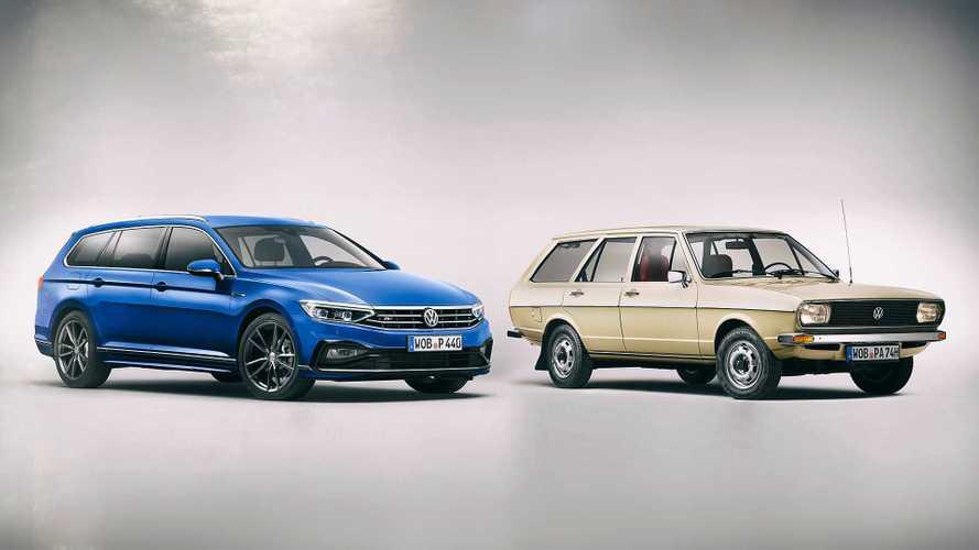 DIAPORAMA - L'histoire de la Volkswagen Passat