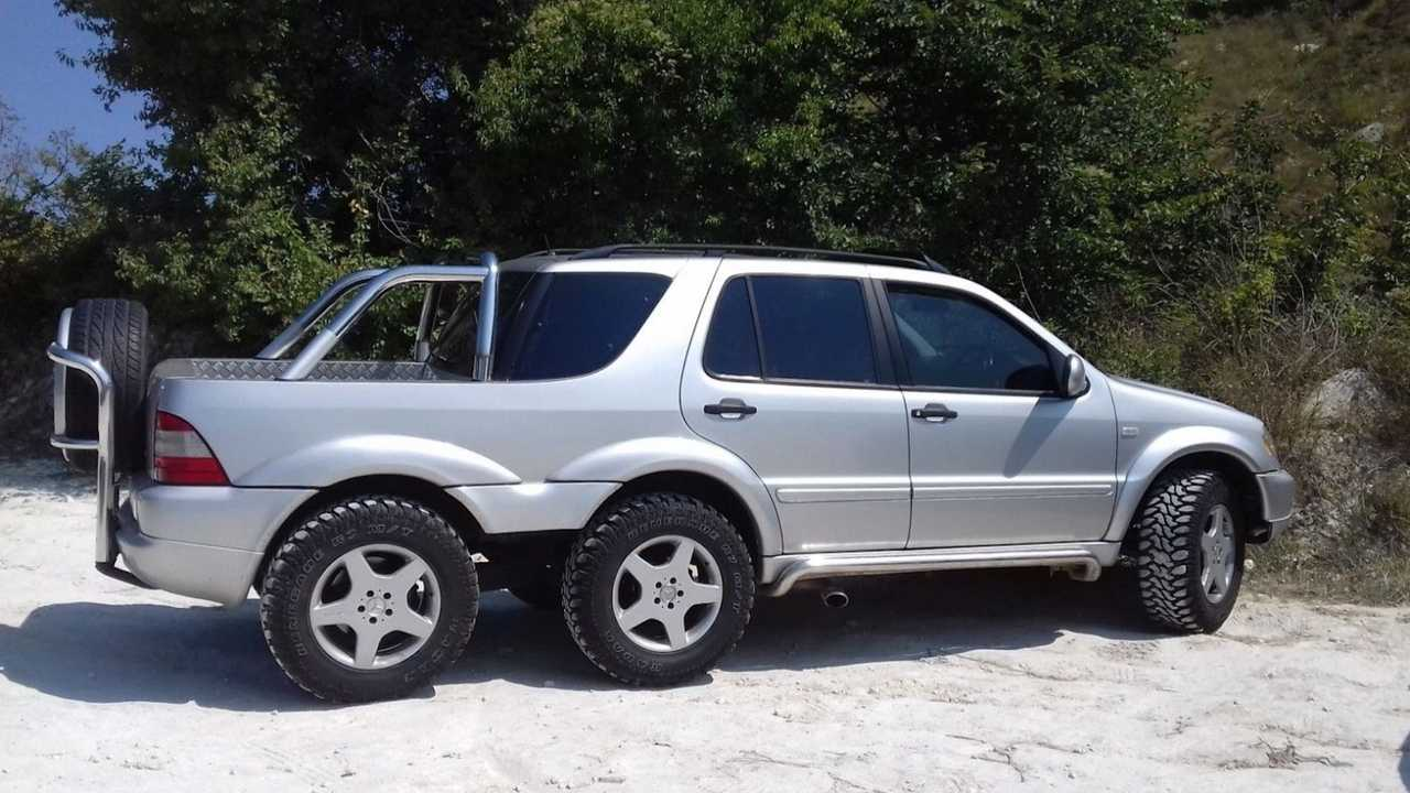 ec5cbf00b6295d This Mercedes ML 6x4 Is The Six-Wheeler You Can Afford