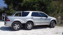 Mercedes ML 6x4 Pick-up