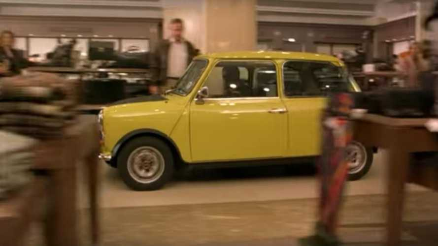 Watch: The Deleted Footage Of Mr Bean's Mini You Never Got To See