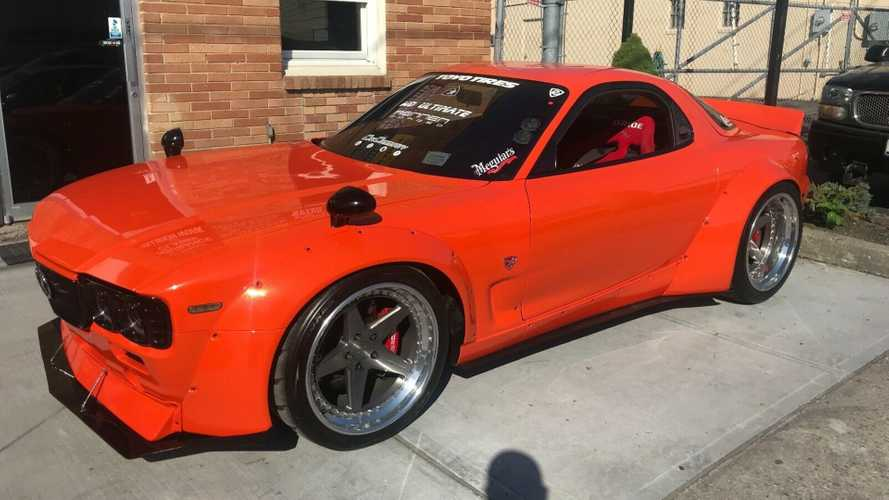 This Uniquely Modified Mazda RX-7 Packs 800hp