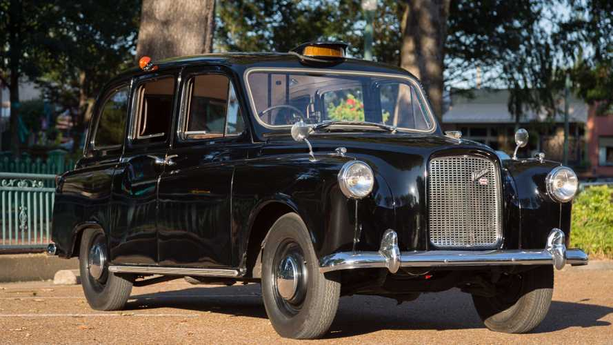 This austin fx4 is the real london taxi