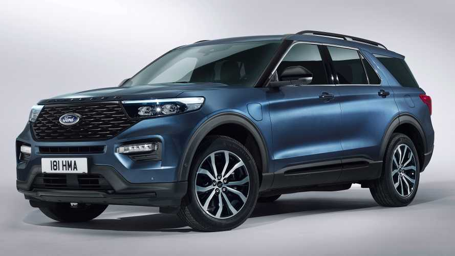 2020 Ford Explorer revealed in Europe for first time
