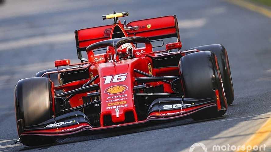 Leclerc vuela en Bahrein y se lleva su primera pole en la F1