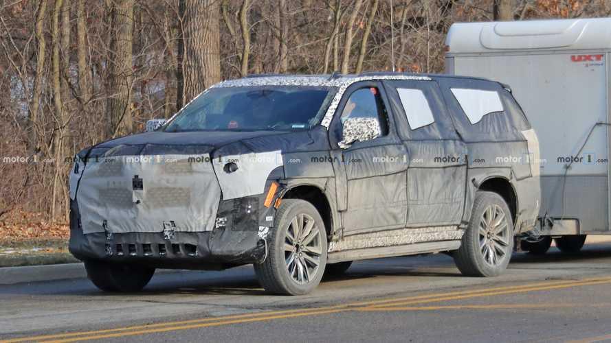 2020 Cadillac Escalade Spied For The Very First Time