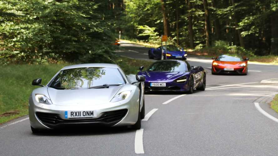 Test McLaren 12C vs. 650S vs. 720S: Let's do some Mac history