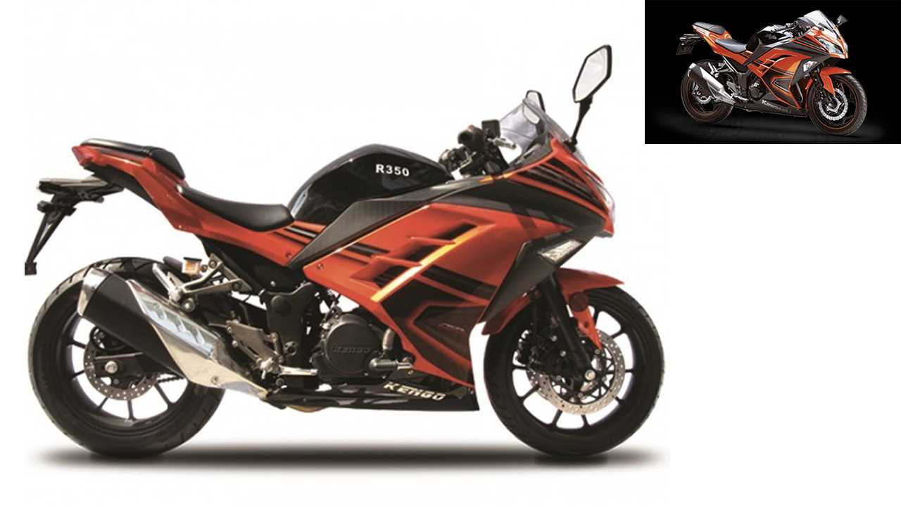 Kengo 350 = Kawasaki Ninja 300