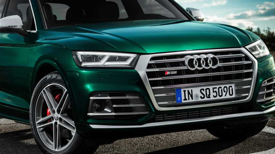 342 lóerős hibrid V6-os hajtja a dízelmotoros Audi SQ5-öt